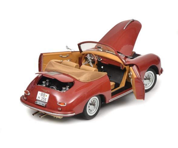 Porsche 356 A, red 1:18