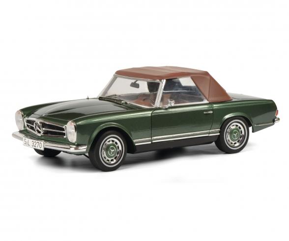MB 280 SL, grün 1:18