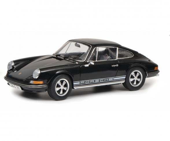 Porsche 911 S Coupé 1973, schwarz, 1:18