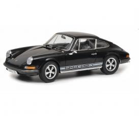 Porsche 911 S, black 1:18