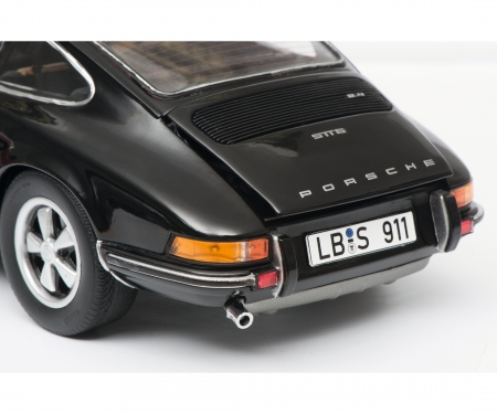 Porsche 911 S Coupé 1973, black, 1:18