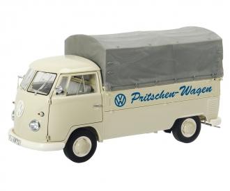 """VW T1b Pritsche mit Plane """"VW Pritschen-Wagen"""", 1:18"""