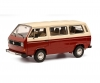 VW T3a bus red/white 1:18