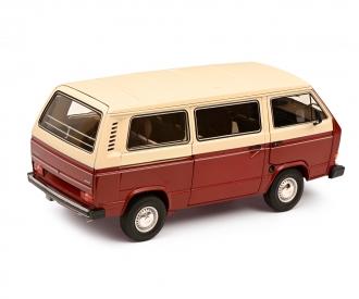 VW T3a Bus rot/weiß 1:18