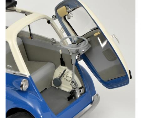BMW Isetta Export, blau/grau 1:18
