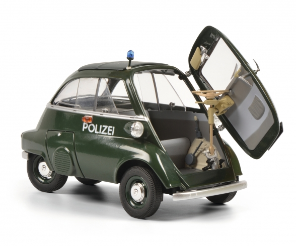 BMW Isetta Exp. POLICE 1:18
