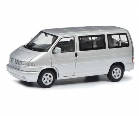 VW T4b Caravelle, silver, 1:18
