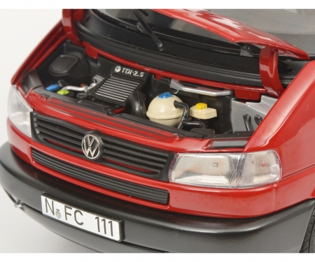 VW T4b Westfalia Camper, red, 1:18