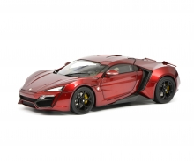 Lykan Hypersport, red, 1:18