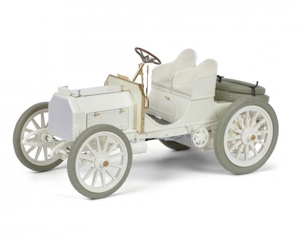 Mercedes 35 HP, white 1:18