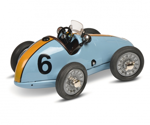 Grand Prix Racer #6 construction kit, blue