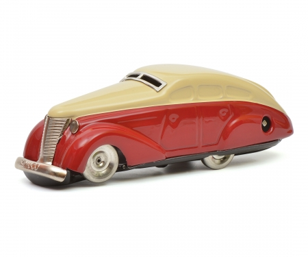 Wendeauto 1010, rot-beige