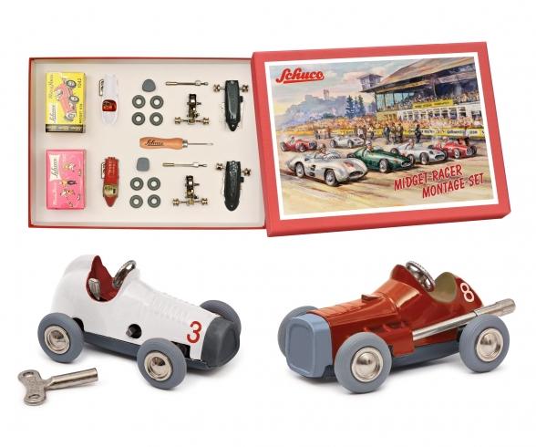 Micro Racer Midget #8 + #3 BS