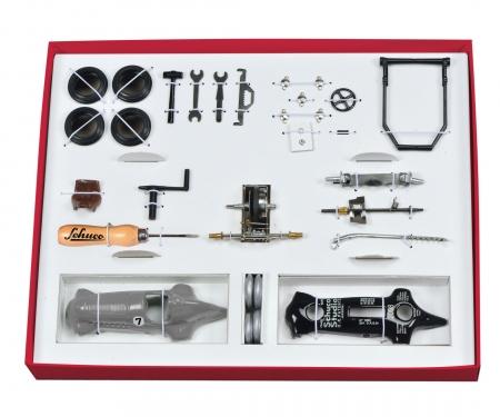 Studio I #7 Grand Prix construction kit, grey metallic