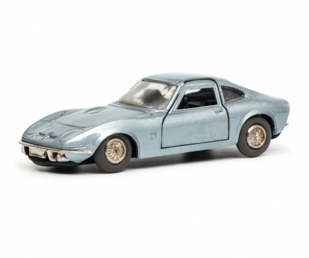 Micro Racer Opel GT, blue metallic