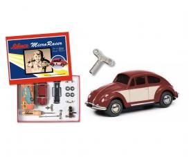 "Micro Racer ""VW Käfer"" construction kit, dark red beige"