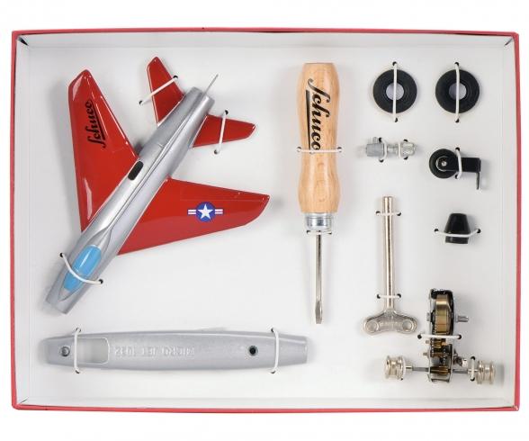 """Micro Jet """"Super Sabre F100"""" Montagekasten"""