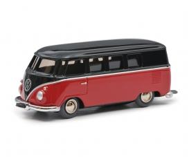 Micro Racer VW T1 Bus, braun-rot