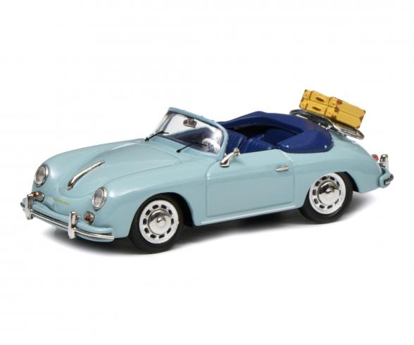 Porsche 356 A Cabrio,bl. 1:43