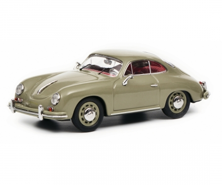 Porsche 356 A Coupé, grey, 1:43