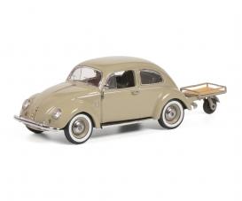 VW Käfer w. Auto Porter 1:43