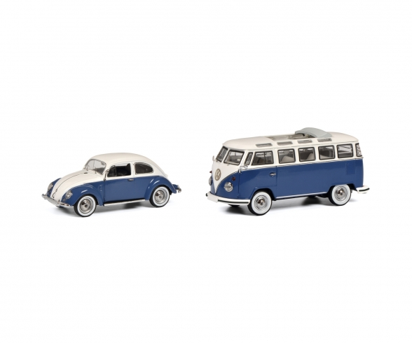 Set VW Kaefer + T1 Samba 1:43