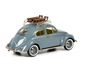 VW Käfer mit Schlitten 1:43