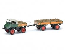 MB U401 w.trailer/load 1:43