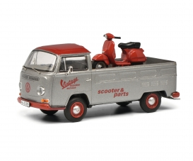 VW T2a VINTAGE SCOOTER 1:43