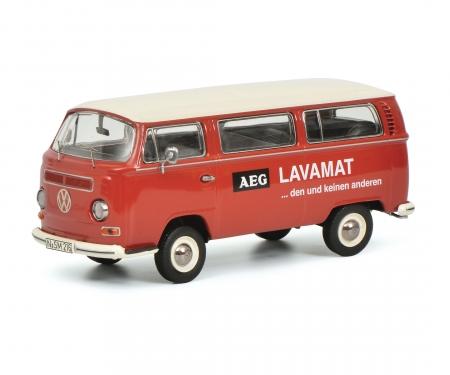 """VW T2a Bus L Luxus """"AEG Lavamat"""", red 1:43"""
