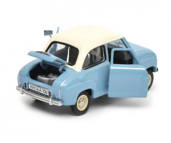 "Set ""Goggomobil"" Goggo Limousine und Goggo Kleintransporter, 1:43"