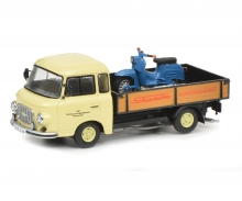"""Barkas B1000 pick-up """"Schwalbe-Kundendienst"""", 1:43"""