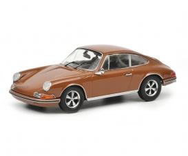 Porsche 911 S, brown 1:43