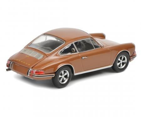 Porsche 911 S, sepia brown 1:43