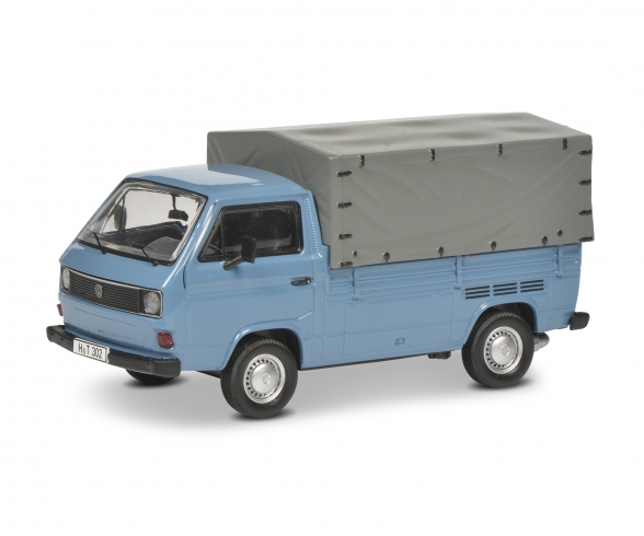 "Set ""40 years VW T3"" VW T3 bus, pick-up and box van, 1:43"
