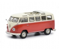VW T1b Samba, red-beige 1:43