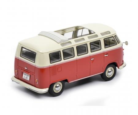 VW T1b Samba, red-beige 1:43