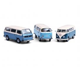 3-er Set VW TRANSPORTER 1:43