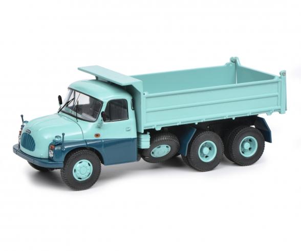 TATRA T138 Muldenkipper, türkis blau, 1:43