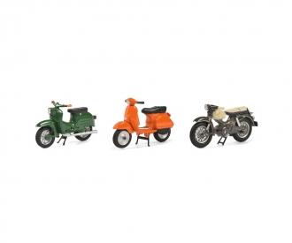Set m.3 Motorrädern 2020 1:43