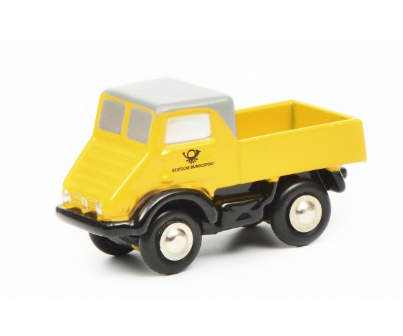 Pic.MB Unimog 401 DP, yellow