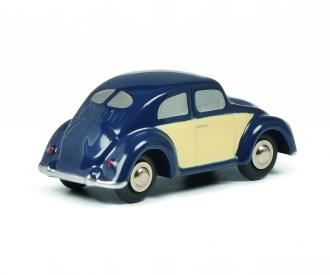 Pic.VW Beetle blue/beige