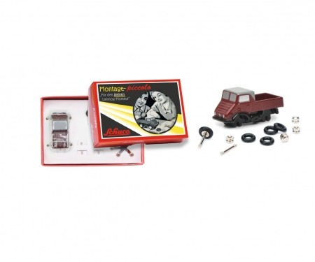 """Der kleine Unimog-Monteur"" Piccolo construction kit Mercedes-Benz U 401"