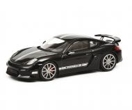 Porsche Cayman GT4, schwarz, 1:43