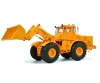 Kirovets K-700 M with front loader, yellow, 1:32