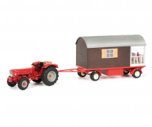 Gueldner G75 A with trailer and balcony, 1:32