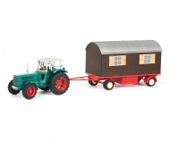 Hanomag Robust with trailer, 1:32