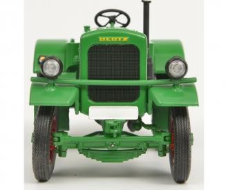 Deutz F3 mit Leiterwagen, grün, 1:32