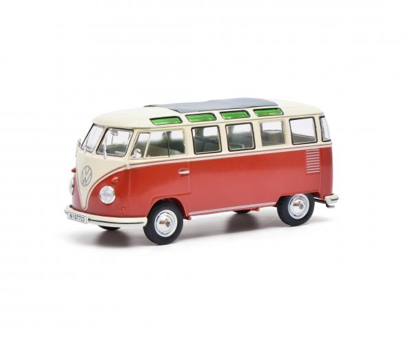 VW T1 Samba,rot-beige 1:32