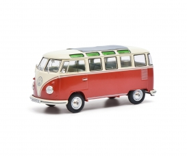 VW T1 Samba,red-beige 1:32